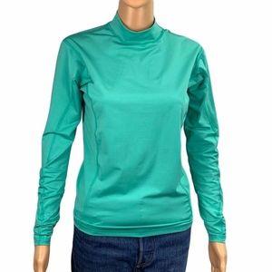 Patagonia Base Layer Long Sleeve Green Shirt